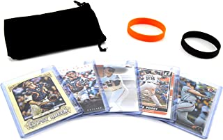 Buster Posey (5) Assorted Baseball Cards Bundle - San Francisco Giants Trading Cards
