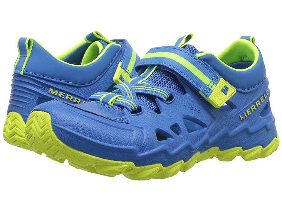 Merrell Kids Hydro 2.0 (Toddler/Little Kid) (Blue/Citron) Boys Shoes