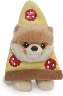 GUND Boo World's Cutest Dog Itty Bitty Boo Pizza Plush Stuffed Animal, 5
