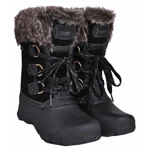 35a7c1e5ba2f7 Khombu Women's The Slope Winter Snow Boots