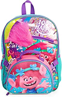 Trolls Girl's Backpack With lunch Bag