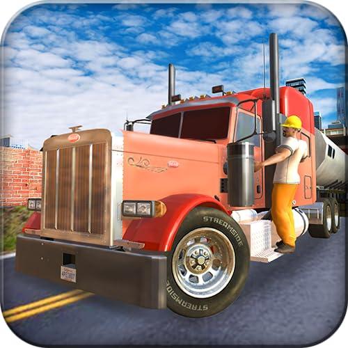 Uphill Cargo Truck Driving Simulator 3D: conductor del transportador de carga en Mega City Driving Parking Frenzy Adventure Simulation juegos gratis para niños 2018