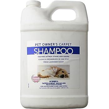 Kirby et Owners Foaming Carpet Shampoo, White, 128 Fl Oz