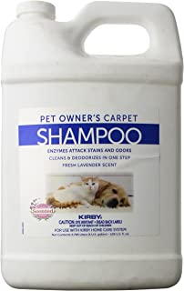 Best Kirby et Owners Foaming Carpet Shampoo, White, 128 Fl Oz Review