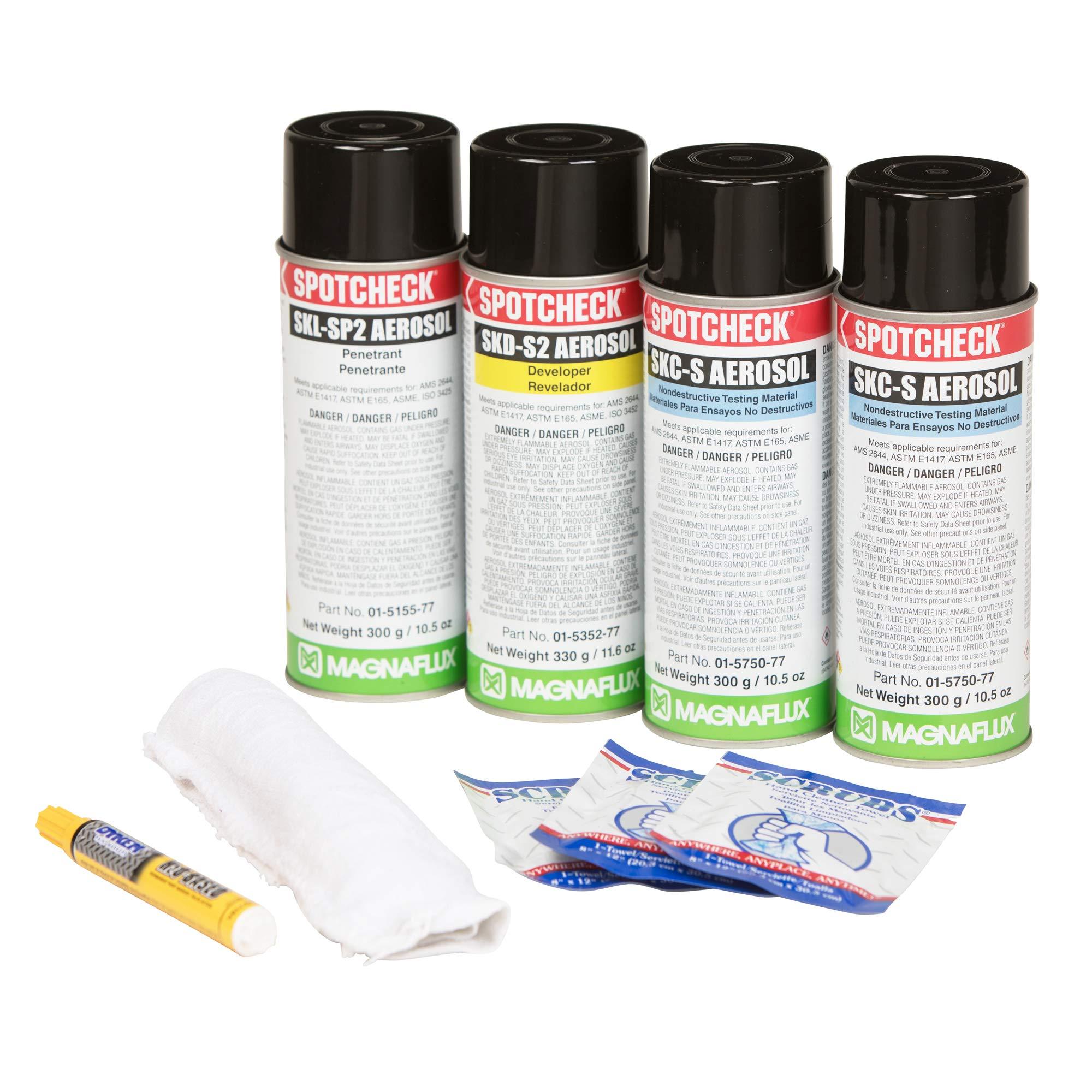 Magnaflux Spotcheck Penetrant Inspection Kit, SK-416 (387-01-5970-48)