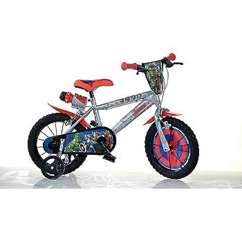 Dino Bikes Avengers Infantil Unisex Ciudad Metal Azul, Rojo ...