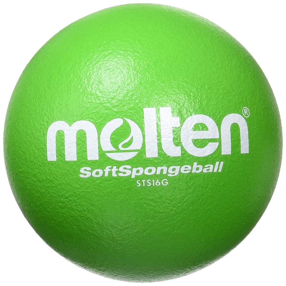 より良いスラックピカリングmolten(モルテン) ソフトスポンジボール16cm G緑 STS16G