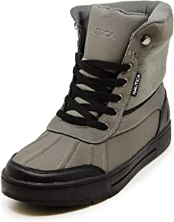 Nautica Mens Lockview Insulated Waterproof Snow Boot
