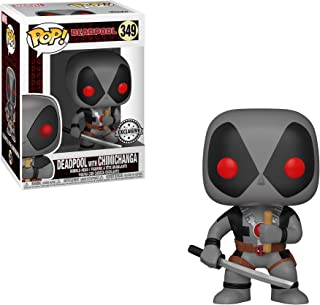Funko Pop! Marvel: Deadpool with Chimichanga Collectible Figure, 7-Eleven Exclusive