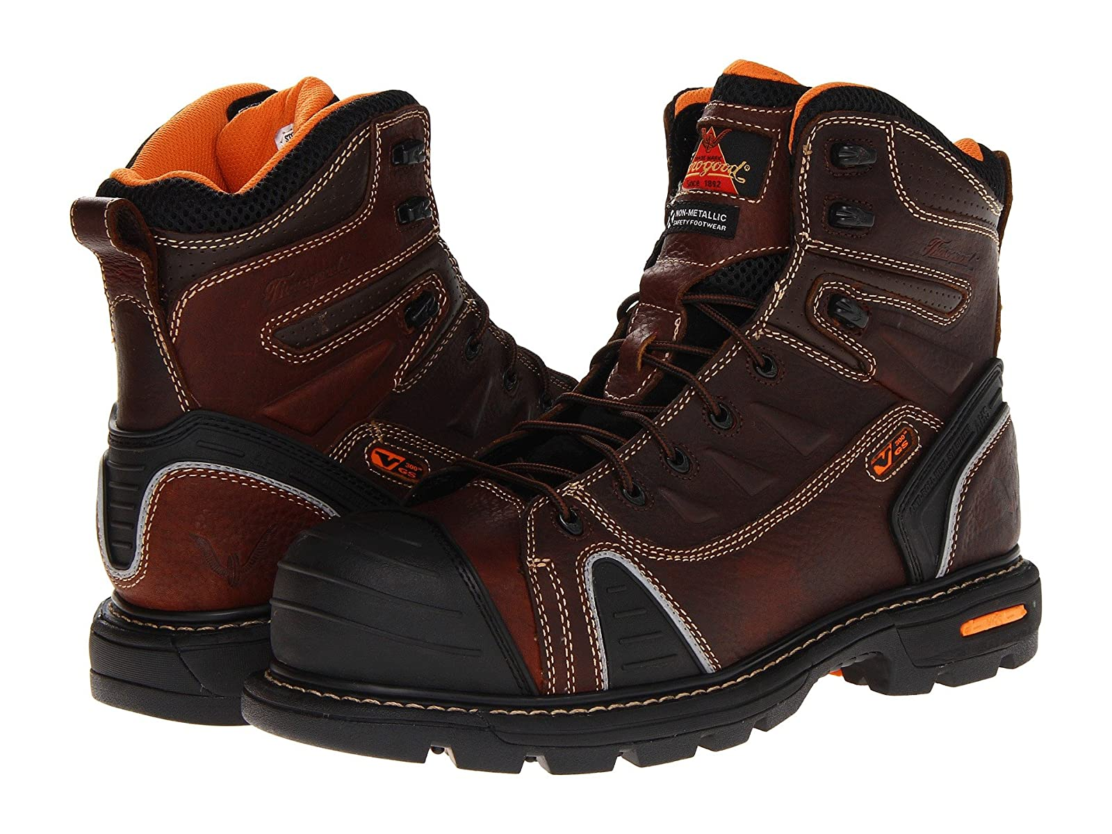 """Thorogood 6"""" Lace To ToeEconomical and quality shoes"""