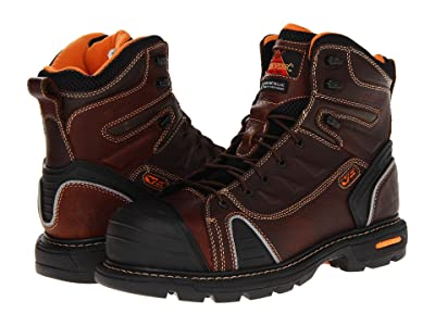 Thorogood 6 Lace To Toe (Brown Tumbled) Men