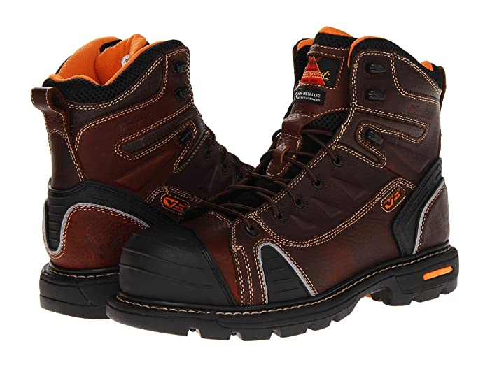Thorogood  6 Lace To Toe (Brown Tumbled) Mens Work Boots