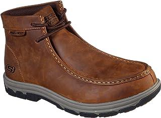 سكيتشرز - حذاء بوت رجالي متوسط القص موك تو