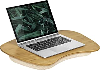 """LapGear Bamboo Lap Desk - Bamboo (Fits up to 17"""" Laptop)"""