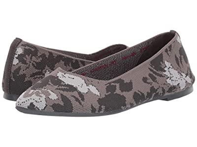 SKECHERS Cleo Camofloral (Charcoal/Grey) Women