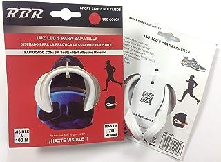 RBR Clip Zapatillas con Luz LED Reflectante 3M Scothlite CE EN13356