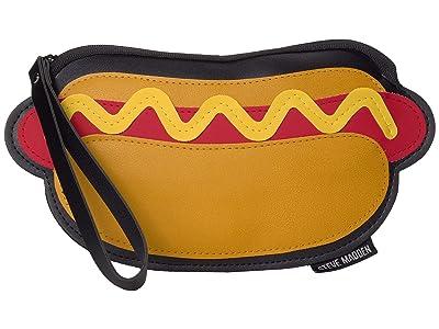Steve Madden Hot Dog PVC Sun Case (Mustard) Wallet