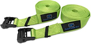 Garage Fit Gymnastic Rings - Premium Heavy Duty Cross Training, Gymnastics, Fitness, Exercise Rings