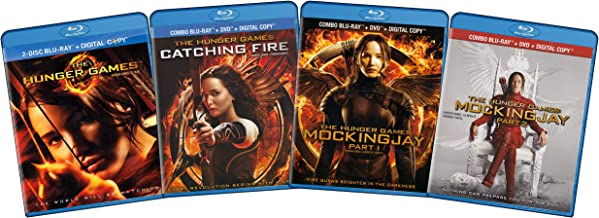 The Hunger Games Complete Collection (The Hunger Games / Catching Fire / Mockingjay) (Part 1 & 2)