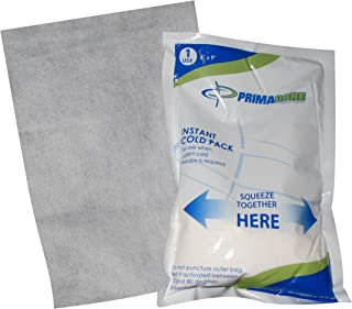 Primacare PCP-69 First Aid Instant Cold Pack for Injuries with Cover Size 6