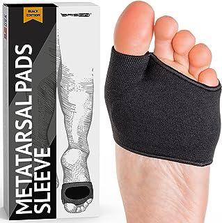 پد های متاتارسال - آستین های ژله ای پد های بالشتی جلوی پا - پارچه نرم و نرم برای مراقبت از پا توپ های بالشتک پا برای تاول های تاول پا پاشنه پا کالوس از Metatarsalgia تسکین درد (سفید)