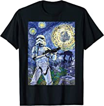 Star Wars Stormtrooper Starry Night Graphic T-Shirt C1
