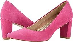 Bright Pink Suede