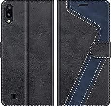 MOBESV Custodia Samsung Galaxy A10, Cover a Libro Samsung Galaxy A10, Custodia in Pelle Samsung Galaxy A10 Magnetica Cover per Samsung Galaxy A10 / Galaxy M10, Elegante Nero