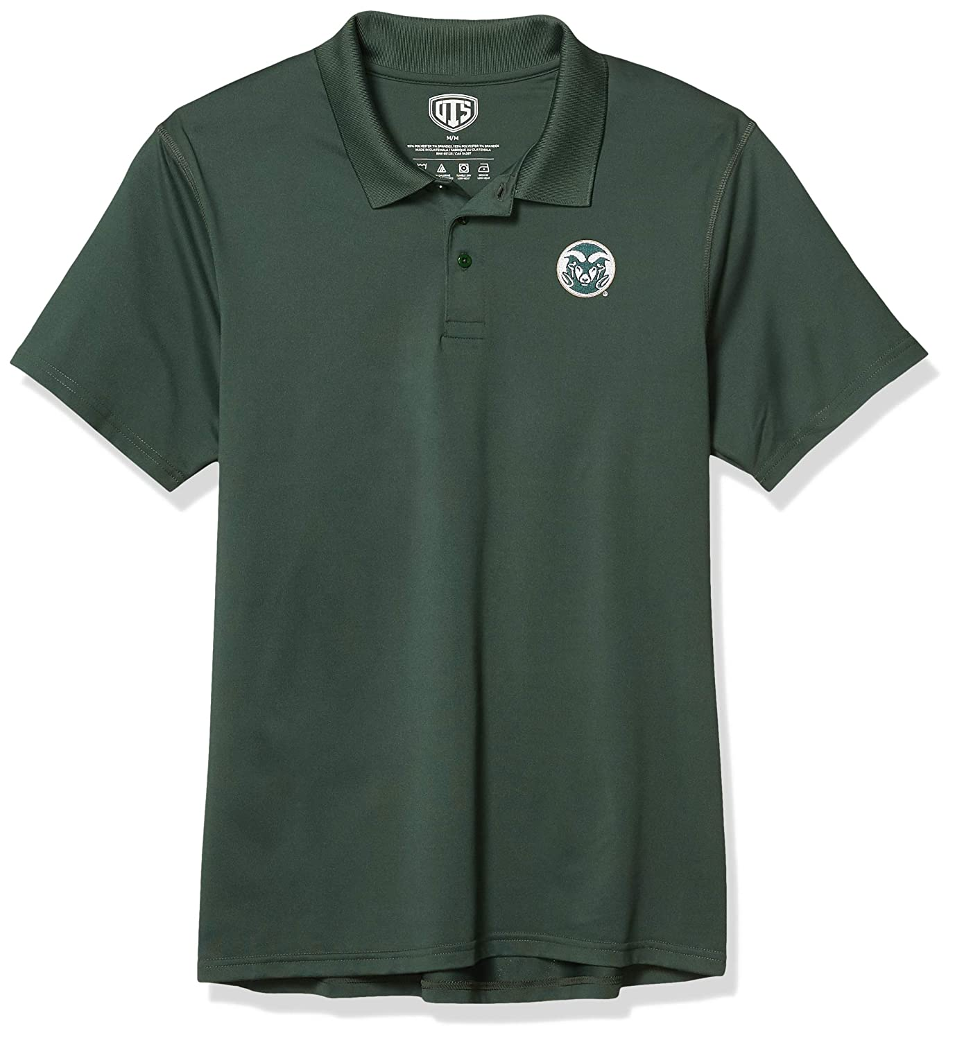 NCAA Mens OTS Sueded Short Sleeve Polo Shirt