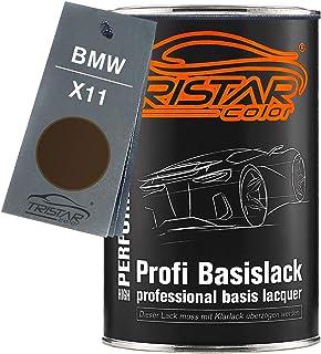 TRISTARcolor Autolack Dose spritzfertig für BMW X11 Frozen Bronze Metallic Basislack 1,0 Liter 1000ml