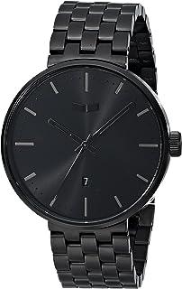 ساعة فيستال للجنسين ROS3M002 روزفلت ميتال انالوج كوارتز سوداء