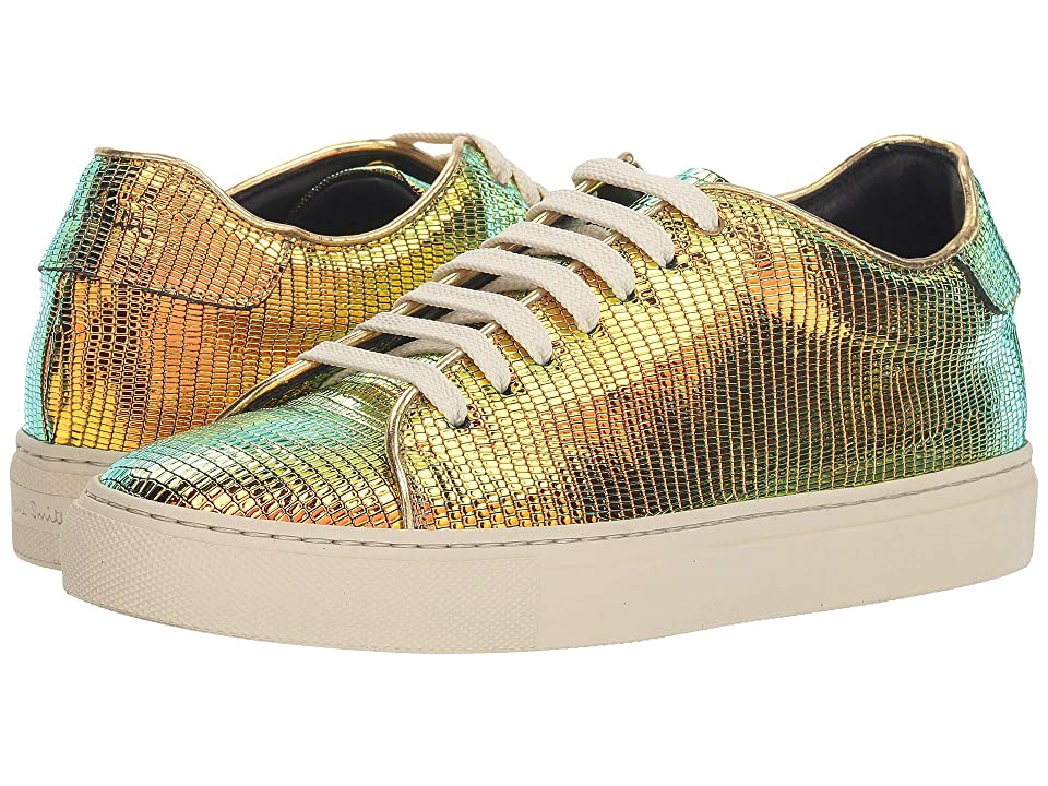 Paul Smith Basso Lizard Print Sneaker (Bronze) Women