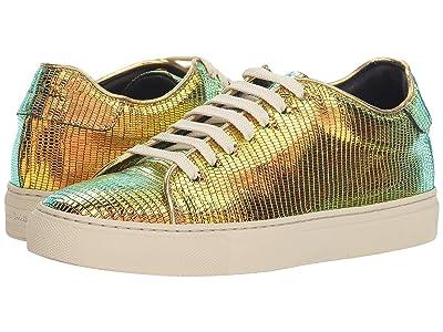 Paul Smith Basso Lizard Print Sneaker (Bronze) Women