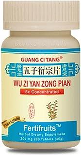 3 Bottles of Wu Zi Yan Zong Pian FertiFruits Plus - Fertility Blend for Men - Family Planning- 200 Pills in each Bottle