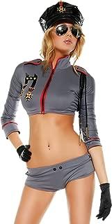 Women's Combat Cutie Top Shorts Hat Gloves Sunglasses