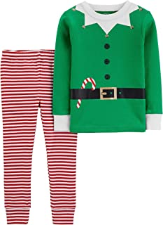 Image of Christmas Elf Suit Pajama Set for Girls and Toddlers