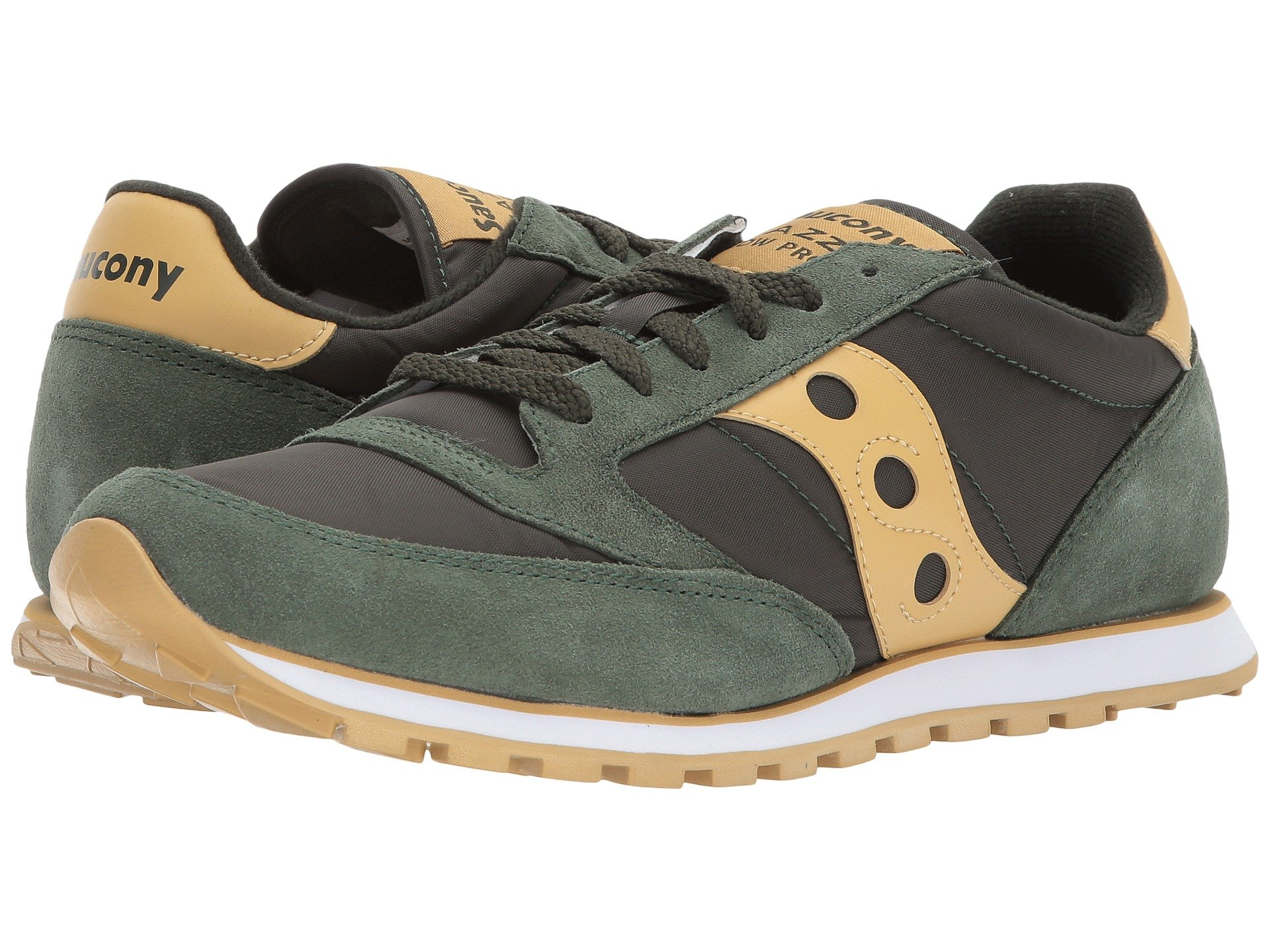Saucony Originals Jazz Shoes Green Men Amazon