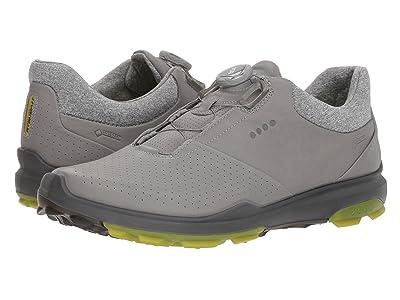 ECCO Golf Biom Hybrid 3 Boa (Wild Dove/Kiwi) Men