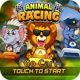 Go-Cart-Rennspiel für Kinder - 2D-Wildtiere-Spaß Auto-Abenteuer für Android- und Fire-Tablets