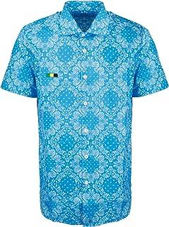 DEPARTMENT FIVE Luxury Fashion Mens U20C05F2032112 Light Blue Shirt | Spring Summer 20
