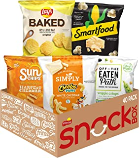 FritoLay Ultimate Smart Snacks Care Package Variety Assortment of Chips & Crisps Ready to Go Snacks, 40 Count
