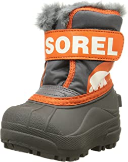 Sorel Commander S S Salt Cold Weather Boot (Toddler/Little Kid)