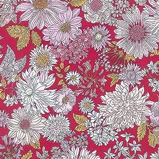 Ruby Floral - Memoire A Paris - Lecien Japan Cotton Lawn Fabric