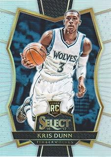 2016-17 Select Basketball Prizms Silver #126 Kris Dunn Minnesota Timberwolves