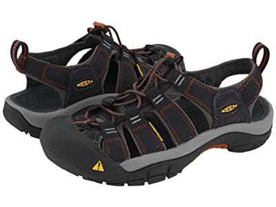 Keen Newport H2 (India Ink/Rust) Men