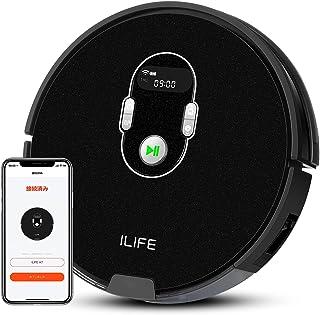 アイライフ ILIFE A7 ロボット掃除機 計画式な清掃システム WiFi 対応 アプリ制御 多様な予約功能 硬質床と薄いカーペットを強力清掃 A7