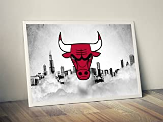 Chicago Bulls Limited Poster Artwork - Professional Wall Art Merchandise (More (8x10)