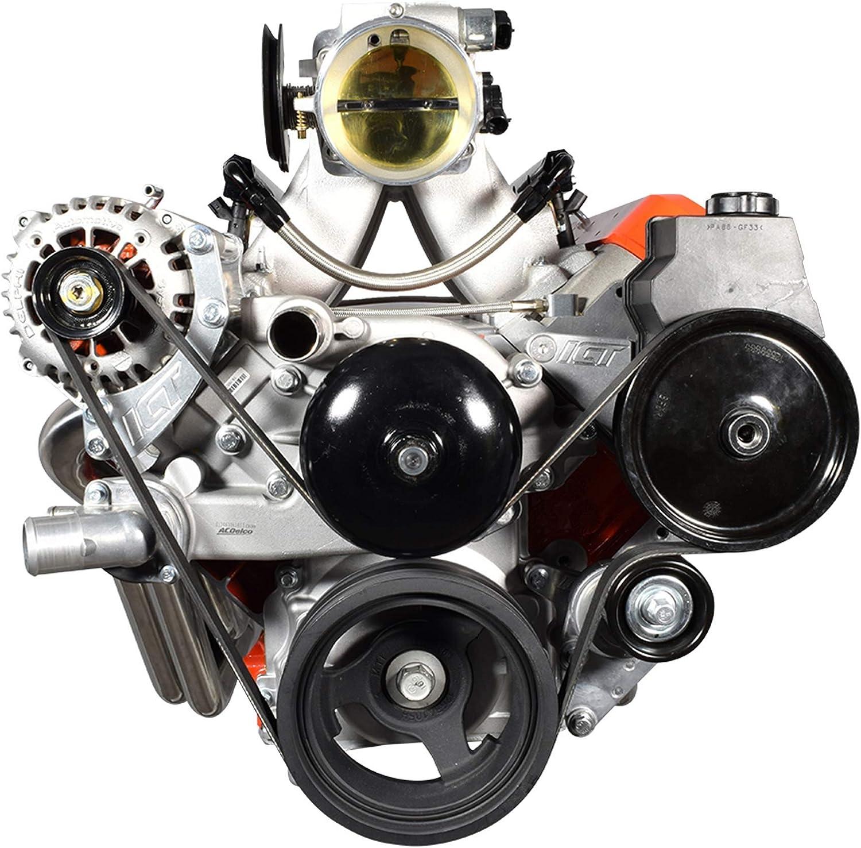 25% OFF ICT Billet 5.3L New product LS Alternator Mount Bracke Pump Power Steering