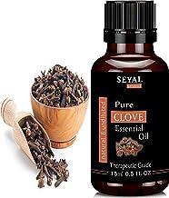 Seyal Clove Essential Oil 100% Pure & Natural Therapeutic Grade, for Teeth, Hair, Skin (15ml)