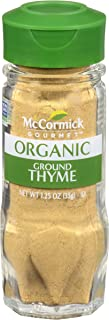 McCormick Gourmet Collection, Ground Thyme, 1.25-Ounce Unit (Packaging  May Vary)